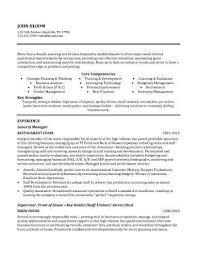 100 Free Resume Templates Cool Restauarnt General Manager Resume Sample Resume Pinterest