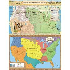 the lewis clark expedition and the louisiana purchase bulletin tcr4427 the lewis clark expedition and the louisiana purchase bulletin board display set image