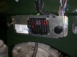 fuse box renewal landyzone land rover forum other conversion pics