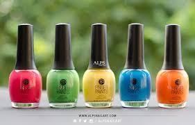 Finger Paints Nail Color Tie Dye Revolution Collection