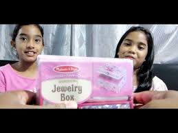 Melissa And Doug Decorate Your Own Jewelry Box How to decorate your own wooden jewelry box video Making 54