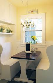 yellow white kitchen