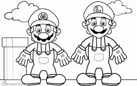 Coloring Pages Printable Mario Nationwideremotecom