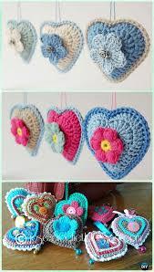 Heart Crochet Pattern Best Amigurumi Crochet 48D Heart Free Patterns Perfect Valentine Gift Ideas