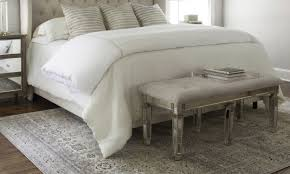 how to choose an area rug for your bedroom