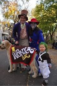 family halloween costumes that will make you want to have kids  charlie and the chocolate factory