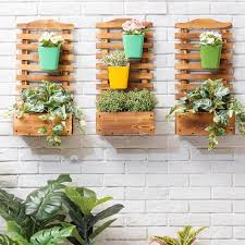 wall mounted hanging plant holder