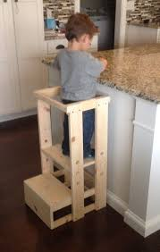 toddler step ladder child kitchen helper step stool by teddygramstottowers on ana white vintage step stool diy projects