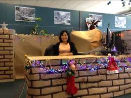 christmas office decoration. 2012 office christmas decoration competition entry