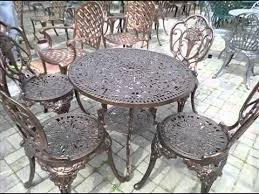 cast iron metal garden furniture