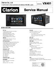 clarion vx401 wiring diagram wiring diagrams clarion vx401 service manual schematics eeprom