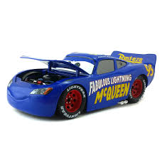 disney pixar cars 3 large no 95 fabulous lightning mcqueen metal cast toy car 1 24 loose brand new in stock free in casts toy vehicles