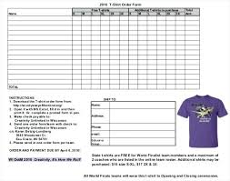 Custom Order Form Template Free Custom Order Form Template Free Free ...