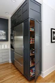 Kitchenrefrigerator Side Panel Ideas Above Refrigerator Cabinet