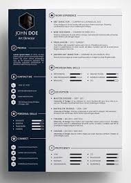 Unique Resume Unique Image Result For Download Free Cv Templates Creative Resume Template