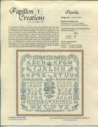 Details About Papillon Creations Floralie Chart