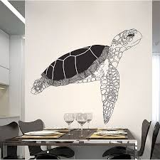 turtle vinyl wall art decal