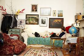 View in gallery The haphazard look of the Bohemian style is definitely not  for those with OCD!