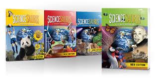 ScienceSaurus books for Grades K-8