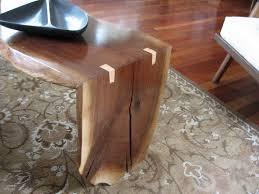 Black Walnut Coffee Table Black Walnut Live Edge Folded Slab Coffee Table