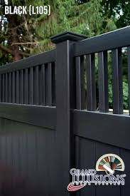 Vinyl fence styles Ranch Black Pvc Vinyl Fence Seegars Fence Company 123 Best Vinyl Fence Images Vinyl Fence Panels Diy Fence Fence Gate