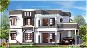 garage charming flat roof house plans
