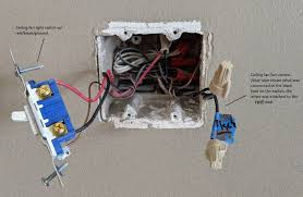 Wiring A Light Switch Red Wire Remove Ceiling Fan Light Combination Replacing With A Light