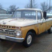 1961 Mercury M100 Same as Ford F100 Unibody Pickup Truck Very Rare ...