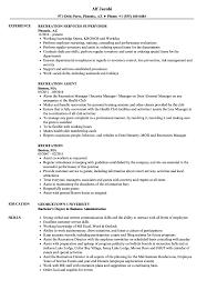 Recreation Resume Samples Velvet Jobs