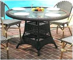 48 round patio table round glass patio table top replacement