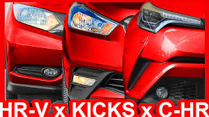 2018 nissan kicks usa. exellent 2018 design honda hrv vs nissan kicks toyota chr hrv kicks chr  youtube and 2018 nissan kicks usa