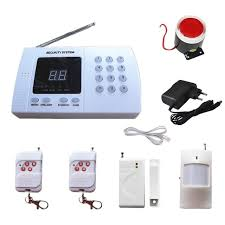PSTN Wireless Alarm System for Home Security Burglar Anti Theft 99 Zones  with 3 PIR Sensor