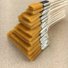 12pcs wooden oil painting brushes set artist acrylic watercolor paint brush for easy cleaning painting tools
