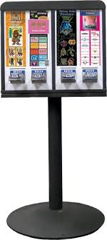 Tattoo Vending Machine Classy Sticker Vending Machine With Stand 48 Column A Fun Vending Machine