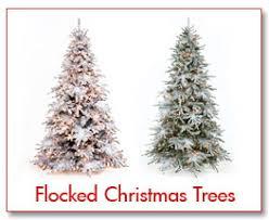 Christmas Tree Flocking  Flocked Artificial Christmas Trees