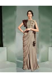 Designer Stitched Saree Mohmanthan Marvella One Minute Designer Readymade Saree 5310