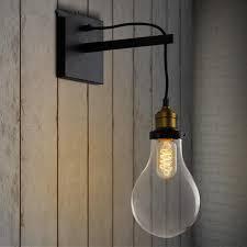 bedroom wall lighting fixtures. Bedroom Wall Light Fixtures Luxury 2018 New Arrival Vintage Bulb Shape Lamps Bedside Of Lighting