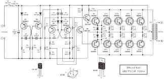 12 volt to 220 volt inverter 500w elektronik pinterest rv converter installation at Vintage Power Inverter Converter Wiring Diagram