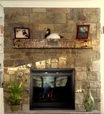 charming image of home interior design and decoration with various stone fireplace delightful home interior