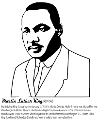 Small Picture Martin Luther King Jr Coloring Pages and Worksheets Best
