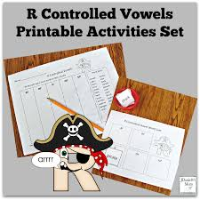 Activities Word R Controlled Vowels Printable Activities Set