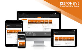 sharepoint online templates edgy accents 2016 sharepoint 2016 responsive theme package