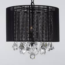 top 69 outstanding lighting black drum chandelier with crystal also chain holder for pretty home decor fashionable bronze pendant light shade bathroom