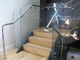 glass and wood railing gl kit deck systems cost indoor stair kits per linear foot calabr2