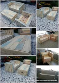 furniture of pallets. outdoor furniture made with pallets of r