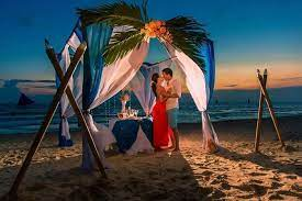 in april in india for honeymoon in