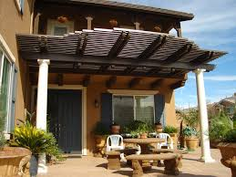 brown aluminum patio covers. Year-round Comfort Brown Aluminum Patio Covers