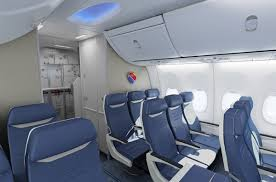 Sunwing 737 800 Elite Seating Chart Southwest Airlines Selects B E Aerospace For Its New Seats
