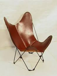leather folding chair vintage leather erfly chairs folding