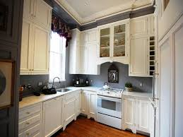 enchanting best color for small kitchen cabinets and
